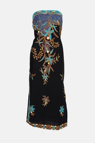 0022 Dress, Tube mid length                  Size : XL