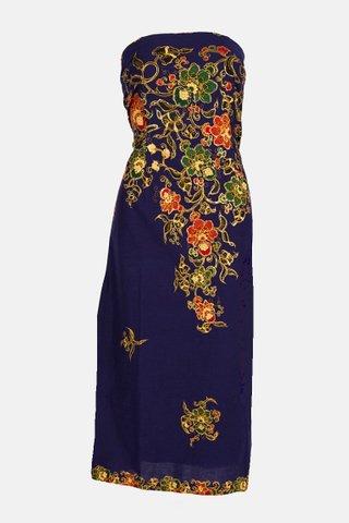 0023 Dress, Tube  mid length               Size : XL