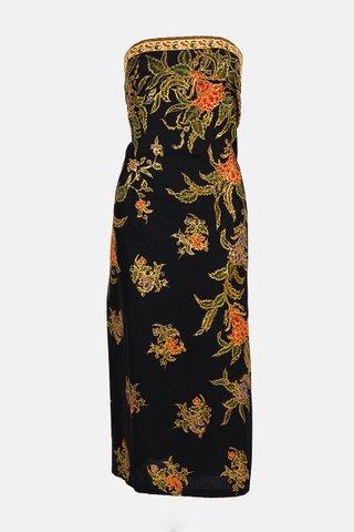 0025 Dress, Tube mid length                  Size : XXL