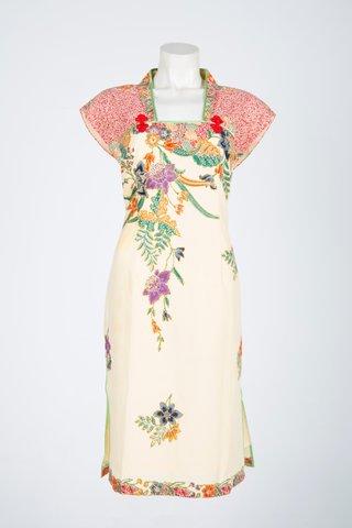 0034 Qi Pao Kimono neckline        Size : XL