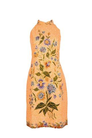 0036 Dress w/Halter neckline    Size: S