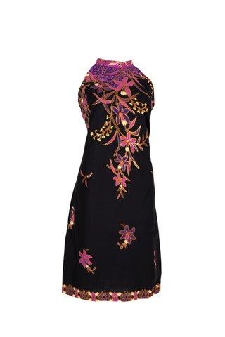 0040  Dress w/Halter neckline   Size : L