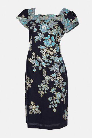 0048 Dress, Square neckline  Size : S