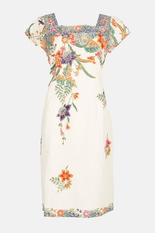 0057 Dress, Square neckline  Size : XL