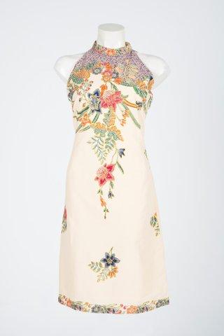 0041  Dress, w/Halter neckline   Size : L