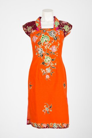 0028 Qi Pao Kimono neckline   Size : S