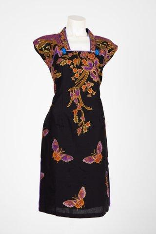 0033 Qi Pao Kimono neckline                  Size : L