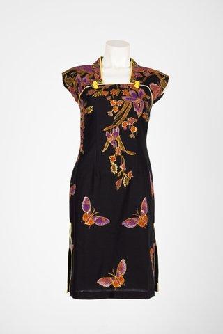 0029 Qi Pao Kimono neckline          Size : S